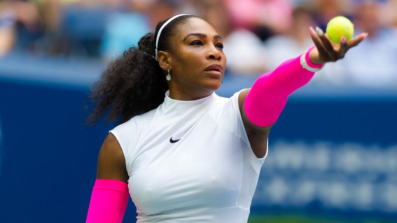 Serena Williams på US Open Grand Slam 2016