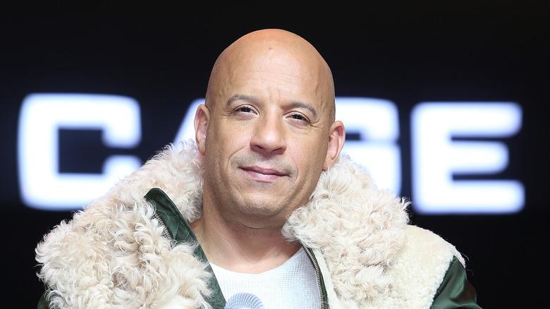 Vin Diesel på en rød løper