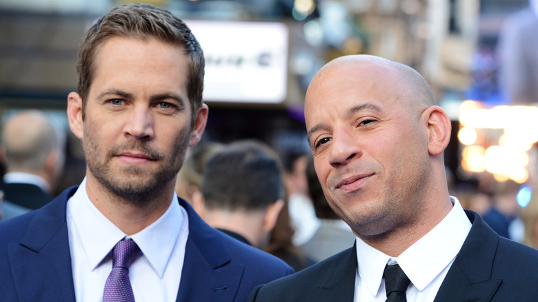 Paul Walker og Vin Diesel