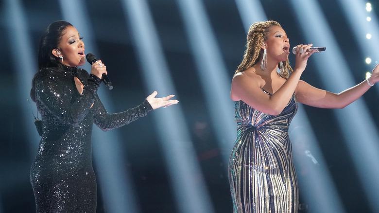 Mickey Guyton og Alyssa Wray på American Idol