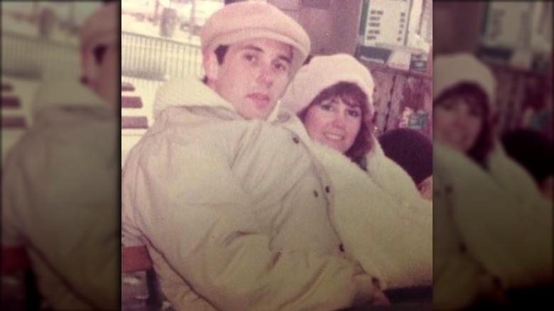 Mike Pence og Karen Pence på 80 -tallet