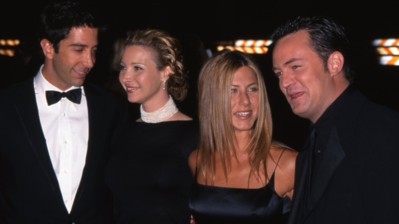 Jennifer Aniston and Friends spiller på den røde løperen