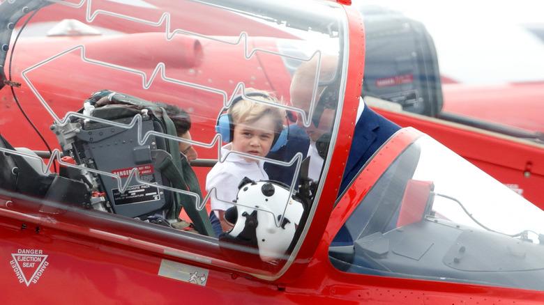 Prins George besøker Royal International Air Tattoo i 2016