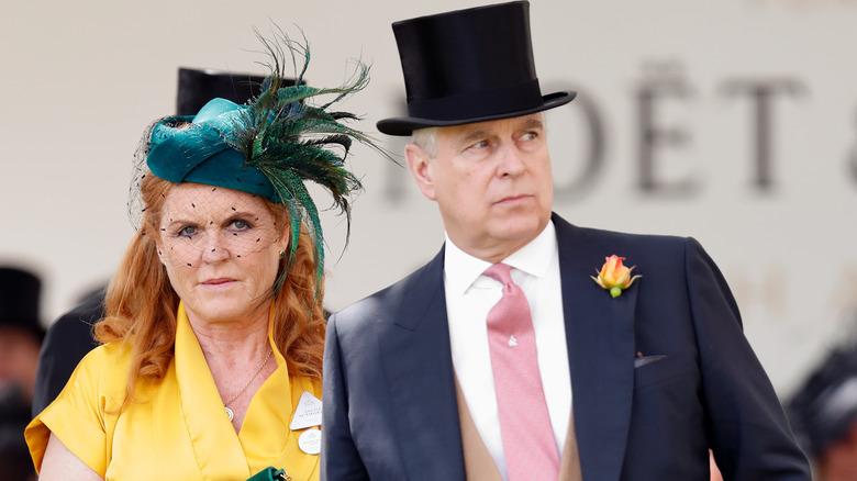 Sarah Ferguson og prins Andrew