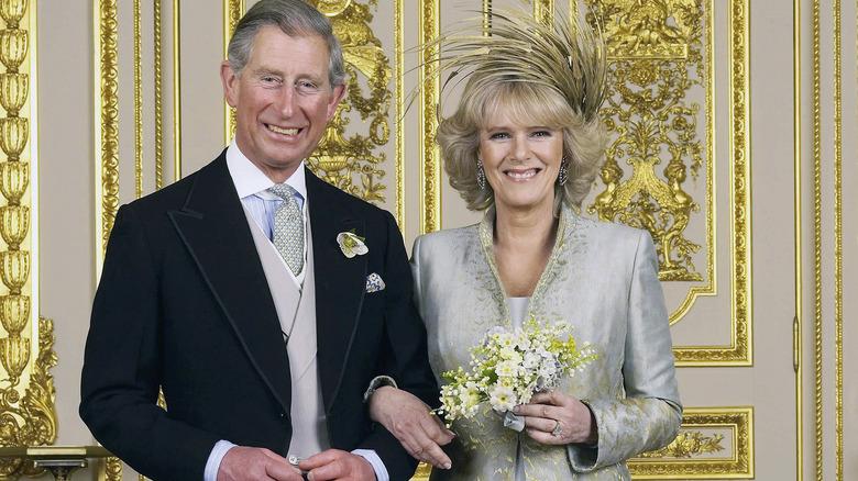 Prins Charles og Camilla Parker Bowles bryllupsdag