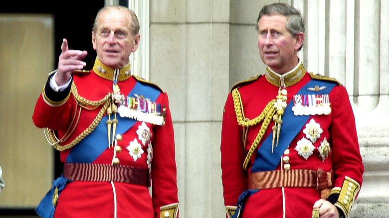 Prins Philip og prins Charles