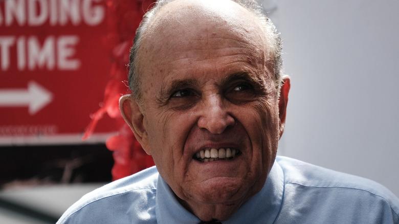 Rudy Giuliani gjør en etterligning av Skeletor