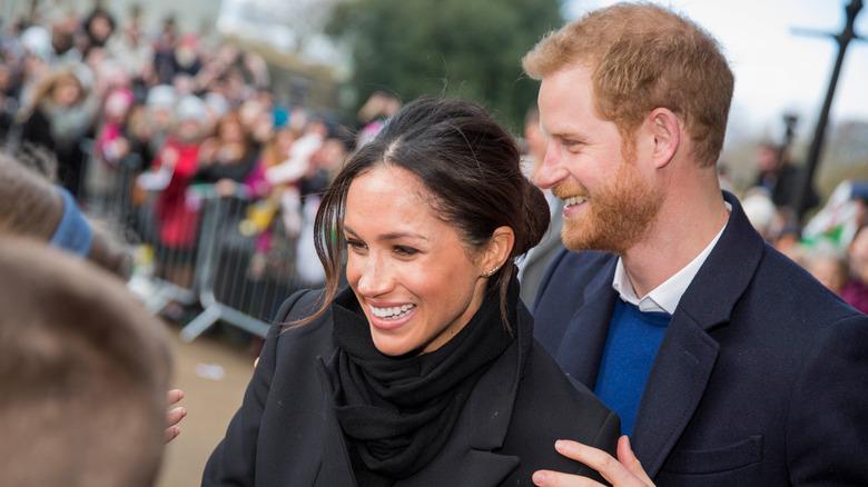 Prins Harry og Megan Markle i 2018
