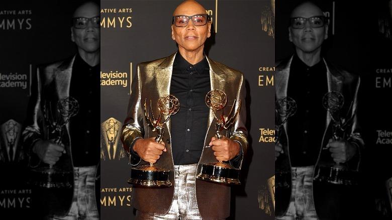 RuPaul på Emmys røde løper