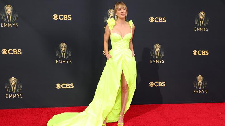 Kaley Cuoco, Emmys, 2021