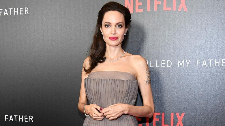 Angelina Jolie på den røde løperen