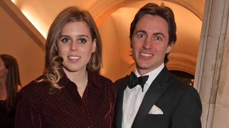Prinsesse Beatrice og Edoardo Mapelli Mozzi
