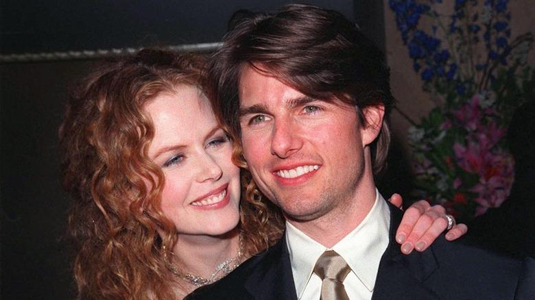 Nicole Kidman og Tom Cruise smiler bredt