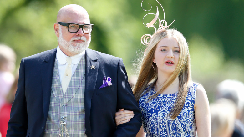 Gary Goldsmith og datteren Talullah