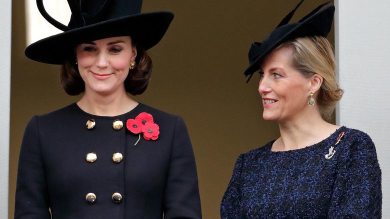 Kate Middleton og Sophie Wessex