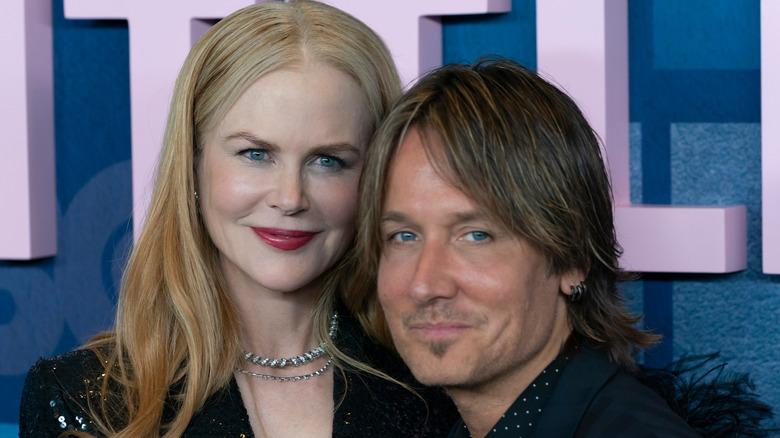 Nicole Kidman og Keith Urban smiler