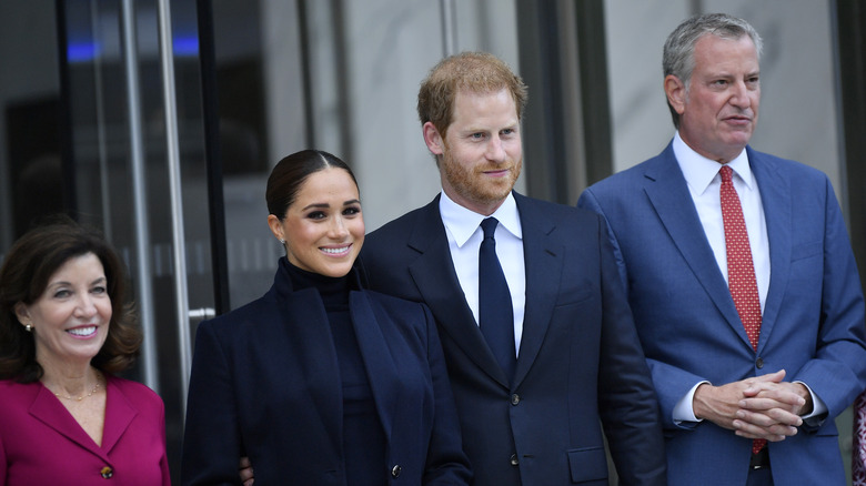 Prins Harry og Meghan Markle i NYC