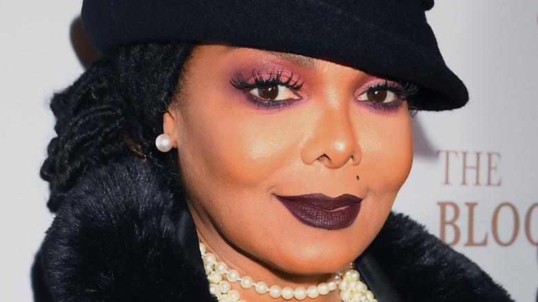 Janet Jackson mørk sminke