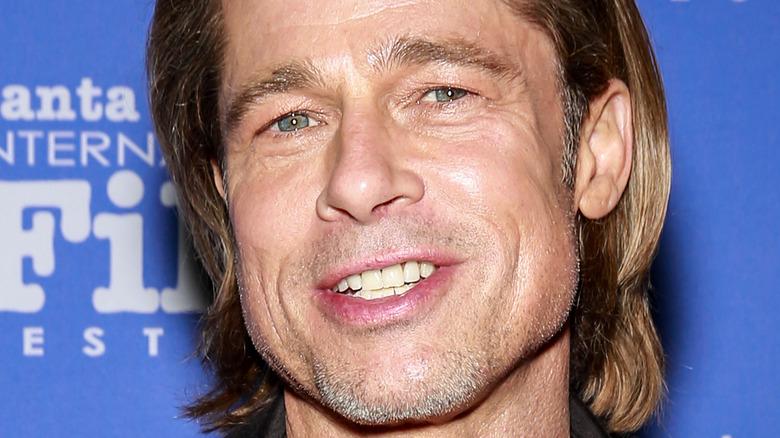Brad Pitt på den røde løperen