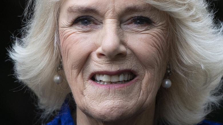 Camilla Parker Bowles perleøredobber