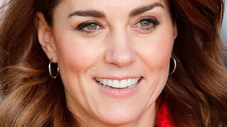 Kate Middleton øyenbryn