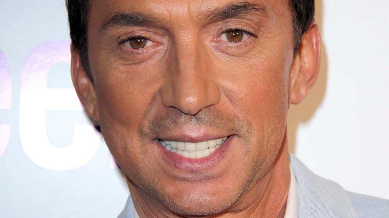 Bruno Tonioli smiler