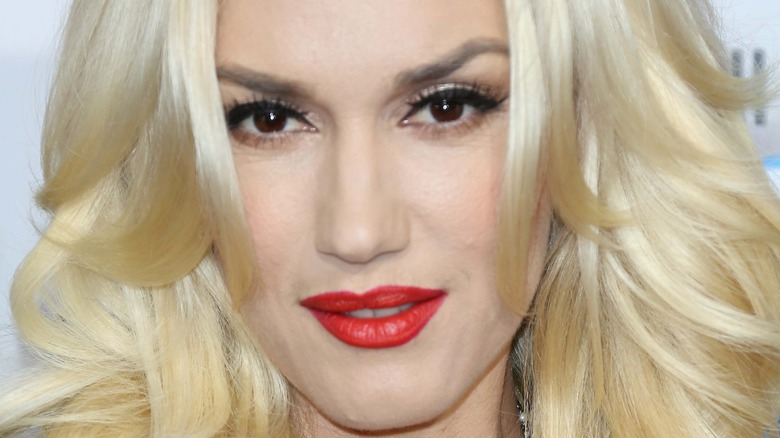 Gwen Stefani rød leppestift