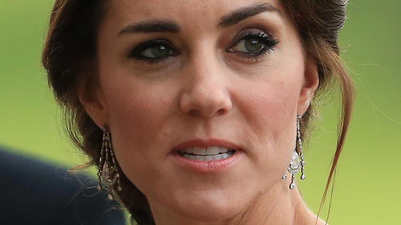Kate Middleton diamantøredobber