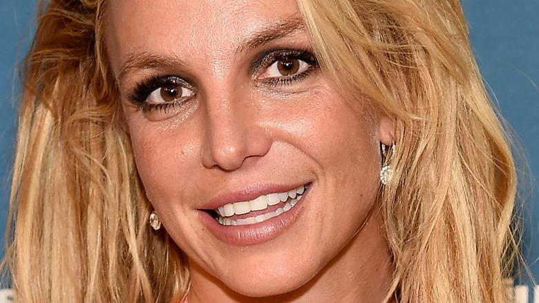 Britney Spears brune øyne