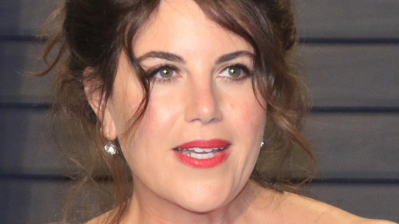 Monica Lewinsky på en Vanity Fair -fest