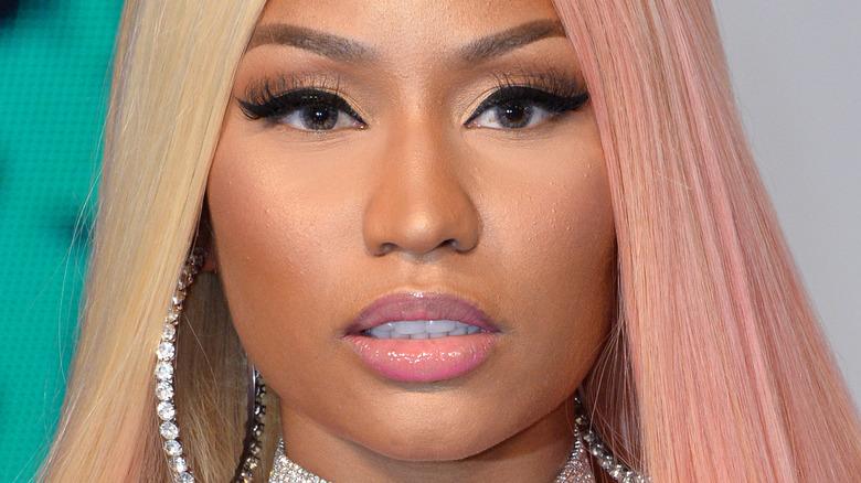 Nicki Minaj tofarget hår