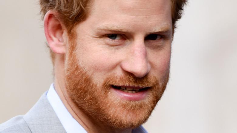 Prins Harry på en kongelig begivenhet